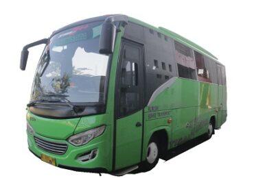 sewa bus jogja tarif harga murah. mulai 999ribu kamu sudah bisa booking rental bus jogja kami. tersedia unit medium bus jb 2 dan bus medium jb 3 di Genjos Holiday.